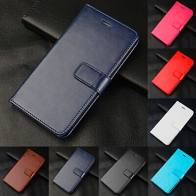 Leather Wallet Card Holder Flip Cover Case For Xiaomi Mi F1 8 9 Redmi Go S2 6 7
