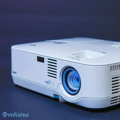 NEC NP300 LCD Projector Refurbished with remote HDMI adapter and cables