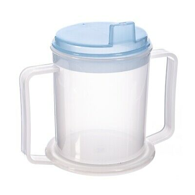 Two Handled Drinking Cup With Lids