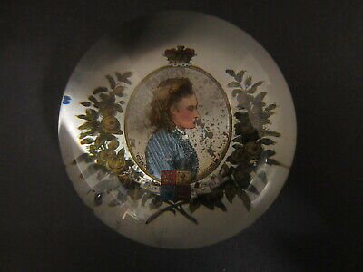 Victorian Glass Paperweight - Princess Louise
