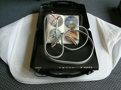 KARAOKE MACHINE PLAYER +48 CD's+ Case &cables