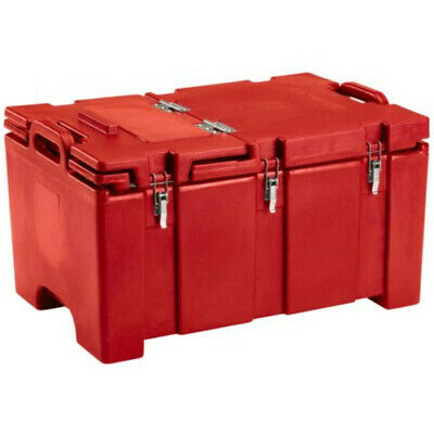 Cambro 100MPCHL158 Full Size Pan Capacity Camcarrier Food Carrier (Hot Red)