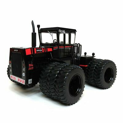 Black Stealth CHASE UNIT 1/32 Big Bud 600/50 Cruiser Cab Tractor Triples 50005
