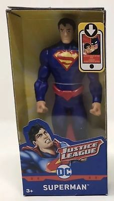 """New DC Justice League Superman 6/"""" Action Figure With /""""Steel/"""" I-Beams"""