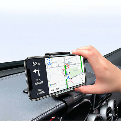 Car Phone Holder Car Dashboard Cell Phon Mount Holder Stand Phone Clip HUD ZX