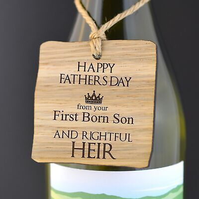 Game of Thrones First Born Child - Eldest Son Daughter - Fathers Day Gift Tag