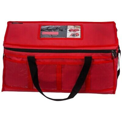 Takeaway Delivery Bag. ULTIMATEHEAT 12v Insulated Heat Plates and DC Car Adaptor