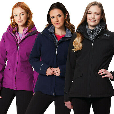 Regatta Womens/Ladies Calyn II Waterproof Polyester 3 in 1 Jacket Coat