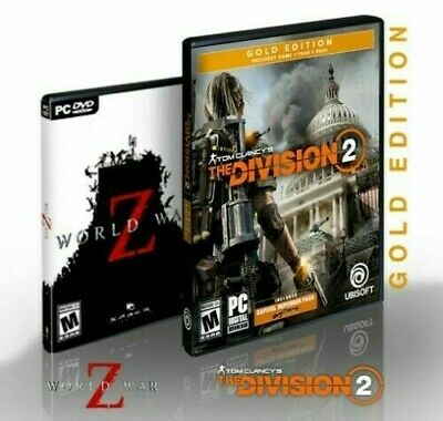 AMD Gift Tom Clancy's The Division 2 Gold Edition & World War Z - Mail Delivery
