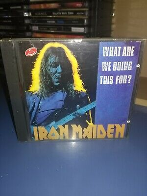 Cd Iron Maiden - What are we doing this for? Live Usa 1983 Bruce Dickinson rare