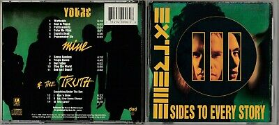 Extreme - III Sides to Every Story  (CD, Sep-1992, A&M (USA) VG