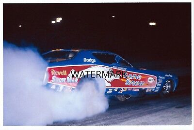 """1970s NHRA Drag Racing-Gene Snow's 1972 Charger AA/Funny Car """"Revell SNOW MAN"""""""
