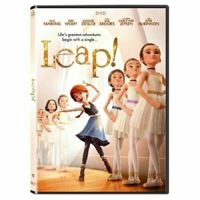 Leap DVD Family Animated Movie (Brand New)