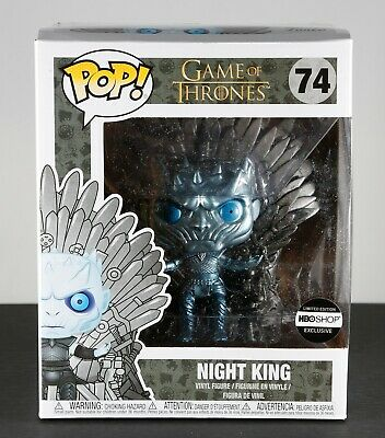 Funko Pop Game of Thrones Night King on Iron Throne #74 GoT HBO Shop Exclusive