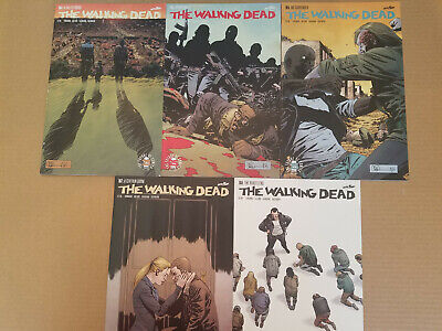 Walking Dead 163 164 165 166 167 168 Complete Comic Lot Run Set Image Kirkman
