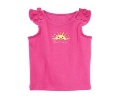 Gymboree Everyday Favorites Fun In The Sun Pink Shirt Size 3T NWT