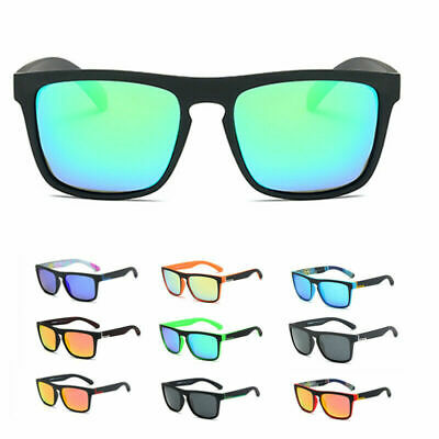 DUBERY D731 Mens Polarized Sunglasses Square Cycling Sport Driving Goggles UV400