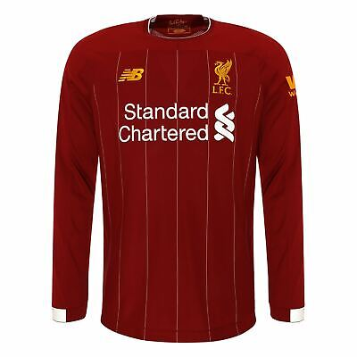 Liverpool FC Home Kit Red Long Sleeve Boys Football Shirt 2019/2020 LFC Official