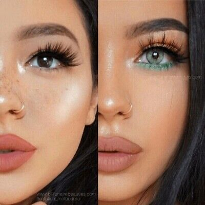 NEW YEAR WEEK Color Lenses Cosmetic Color Contacts Circle Lens Plastic Tweezers
