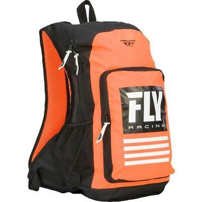 Fly Racing Sac à Dos Saut Orange Schwarz Motocross Enduro MX Cross