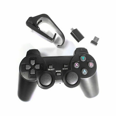 Wireless Bluetooth Gamepad Game Controller Remote For Android PC iPad Black