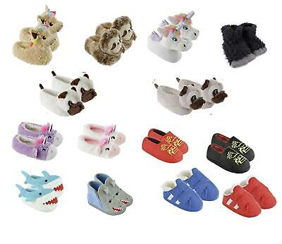 Girls Boys Slippers Novelty 3D Gift Children's Footwear