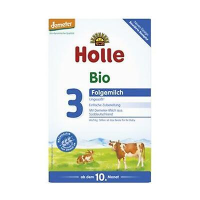 3x Holle Baby Food Bio-Folgemilch 3 600g