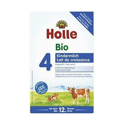 3x Holle Baby Food Folgemilch 4 600g