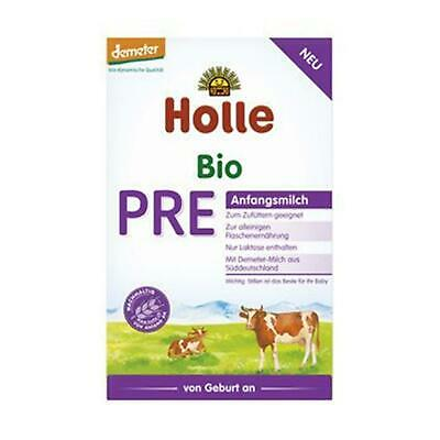 6x Holle Baby Food Pre Anfangsmilch 400g