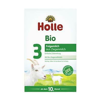 6x Holle Baby Food Folgemilch 3 Ziegenmilch 400g