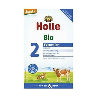 3x Holle Baby Food Bio Folgemilch 2 600g