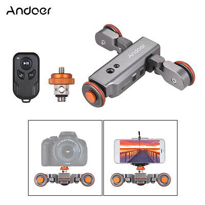 Andoer L4 PRO Motorized Camera Video Dolly Electric Track Slider for Canon Nikon