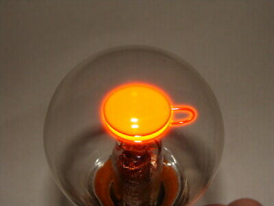 Neon light bulb 1969-1972 year USSR 110 - 220V with built-in resistor, nixie