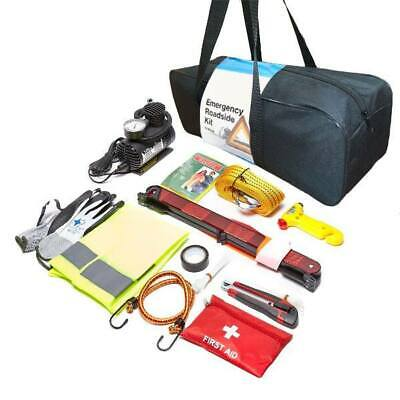 Car Emergency Safety Tool Kit Breakdown Roadside Assistance for Travel Holiday