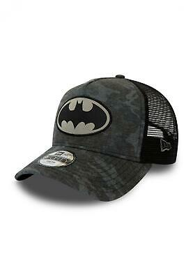 New Era Kids Camo 9Forty Trucker Cap. Batman