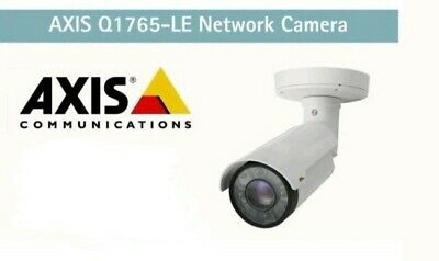 AXIS Q1765-LE Network Camera External Bullet with Integrated IR BNIB with Seals