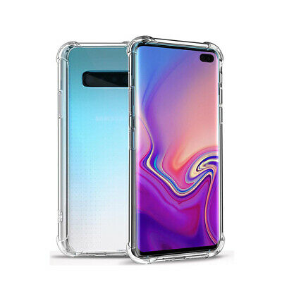 For Samsung Galaxy A50 A40 A30 A20 M10 Shockproof Clear Soft TPU Slim Case Cover