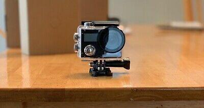 Campark X20 4K 20MP Waterproof Action Camera Travel +Touch Screen Remote Control