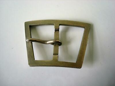 Vintage Silver Tone Trapezoid Buckle 1 1/2 x 2 1/8 In.