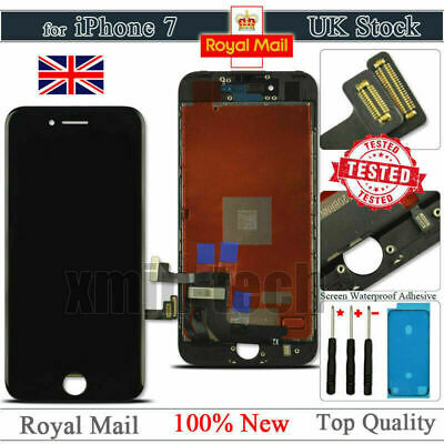 Black For iPhone 7 Screen Replacement LCD 3D Touch Digitizer Display Assembly