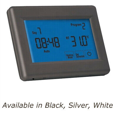 TR8200 Black Thermostat for Electric Underfloor heating Kits