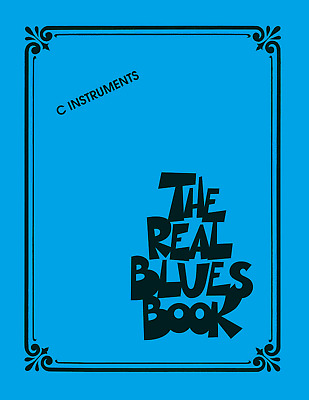300 REAL BLUES SONGS - C Instruments Keyboard Sheet Music Book Shop Soiled