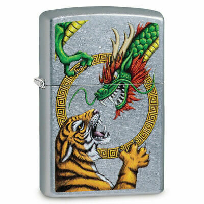 BRIQUET ZIPPO ESSENCE NEUF - DRAGON et TIGRE ( Original , Tempete , Collection )