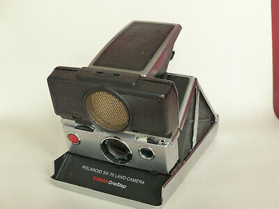 POLAROID SX-70 SONAR OneStep Camera plus Flash