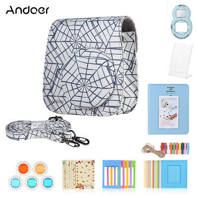 Andoer 8 in 1 Accessories Bundle for Fujifilm Instax Mini 9/8/8+/8s with H0S5