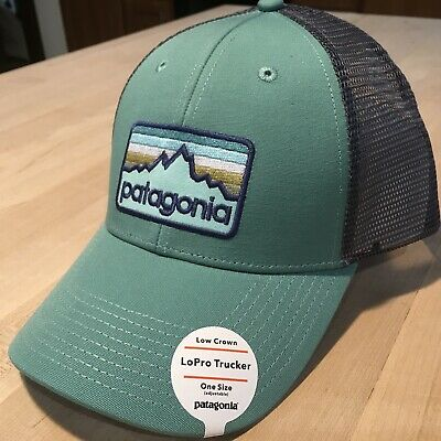 9d0970e5f540a8 Patagonia Line Logo Badge Lopro Trucker Hat New With Tags - Beryl Green 2018