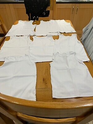 Age 9-10 Years Vests X 8 M&S And Next