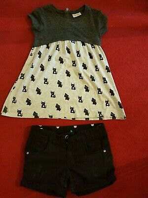 Girls Stunning summer bundle of clothes age 7 years old Shorts Top Next,Benetton