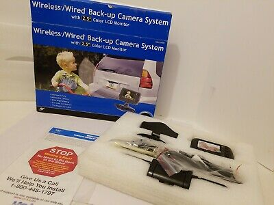 NEW - Wireless Back-Up Camera System with Color LCD Monitor VR3 Model VRBCS300W