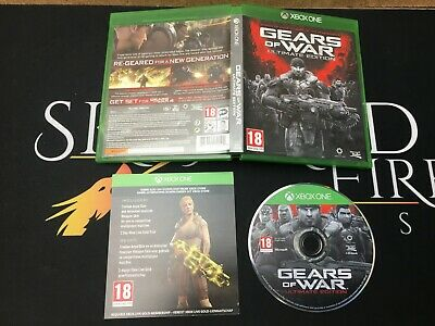 Gears of War Ultimate Edition - Microsoft Xbox One (TESTED/WORKING) UK PAL